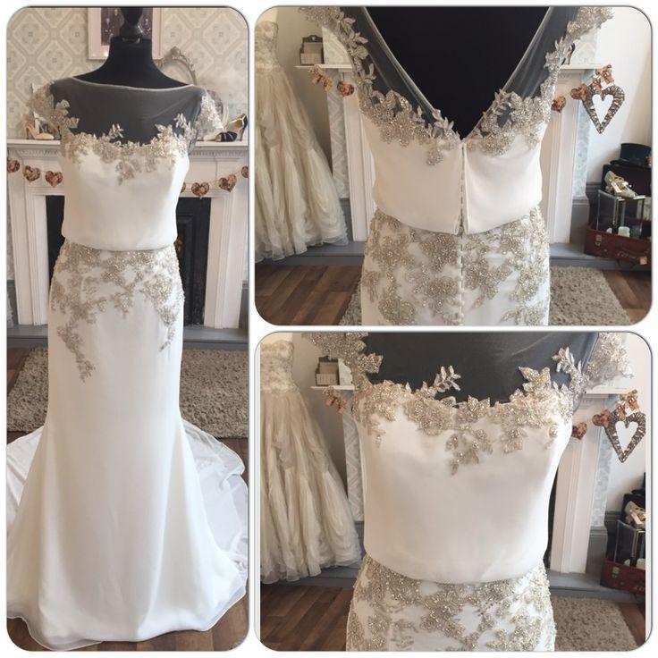 Blue by enzoani harlem size 12 simply elegant wedding for Simply elegant wedding dresses