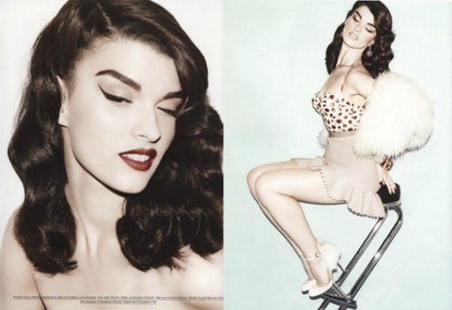 Crystal Renn in Muse Magazine.