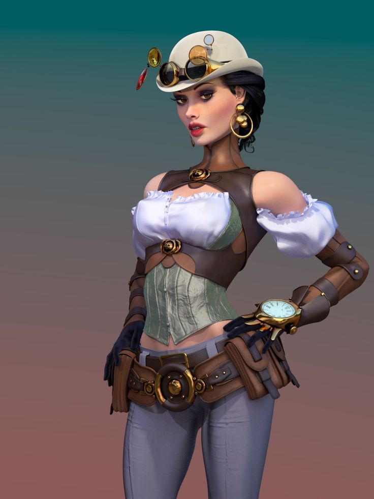 Lady Mechanica final by ikkiz.deviantart.com