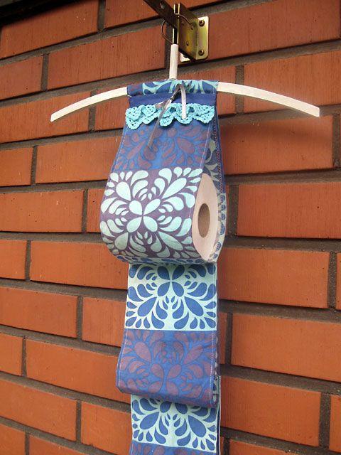 Sokkiksen räpellykset: Long time  Toilet paper holder, diy, Marimekko
