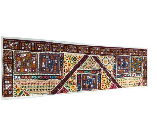 Indian Ethnic Vintage Patchwork Tapestry by baydeals