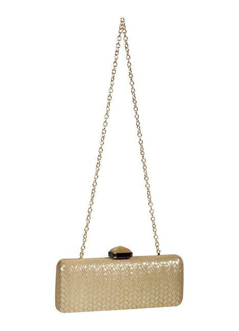 Abendtasche in Gold online bestellen bei Elégance