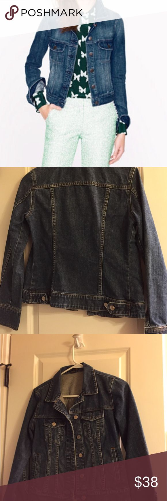 J crew jean jacket Size extra small Boxee J.Crew Jean jacket. J. Crew Jackets & Coats Jean Jackets