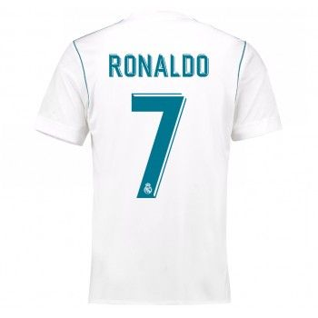 Real Madrid Cristiano Ronaldo 7 Hemmatröja 17-18 Kortärmad  #Billiga #fotbollströjor
