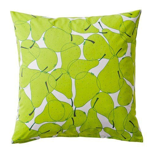 "Ikea Sommar 2015 Cushion Cover, Pear Pattern, Green 20"" X 20"" Ikea http://www.amazon.co.uk/dp/B00TWJ5IGQ/ref=cm_sw_r_pi_dp_uO8lwb0WC5F5X"
