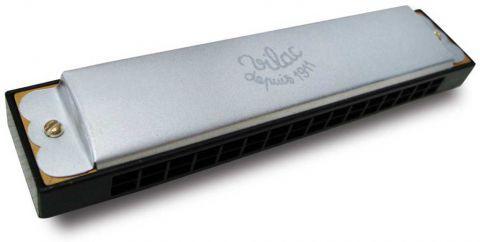 Vilac kovová harmonika stříbrná
