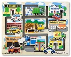 Melissa & Doug Vehicles Maze Puzzle $22.99 - from Well.ca