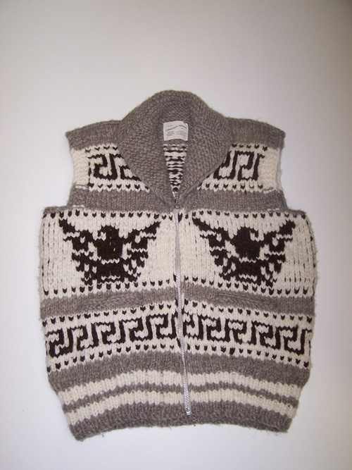 Cowichan Vest :  PNW Tribes (Vancouver Island, British Colombia)