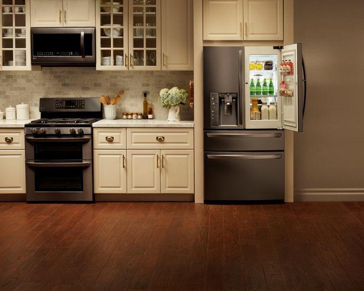 Dream home 2016 pool kitchens pinterest black for Dream kitchen appliances