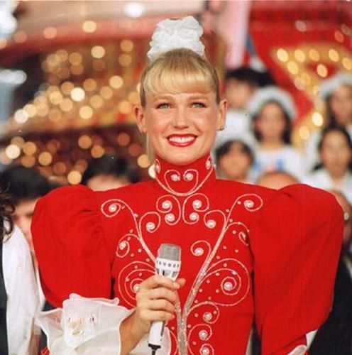 El Show de Xuxa (Tv Show). I sang all the songs