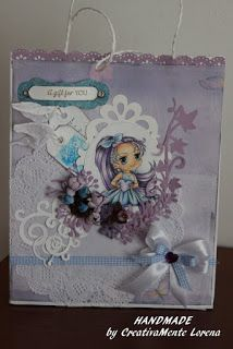 CreativaMEnte Lorena: Una gift bag per un occasione speciale.