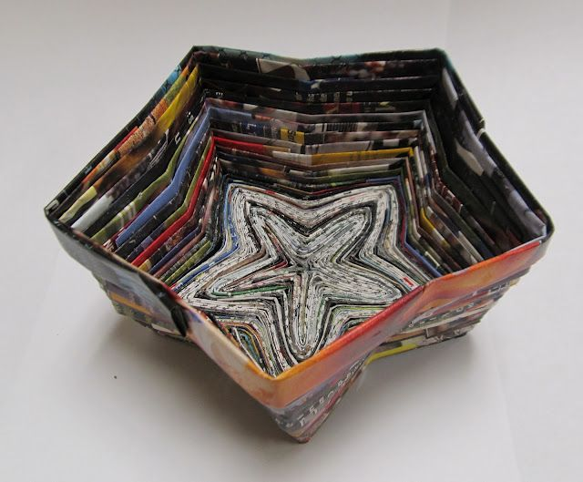 End of the Year Magazine Bowls | high school art project