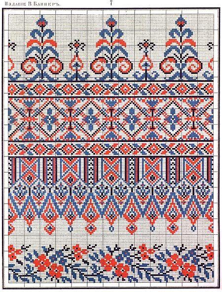 схема вышивки тризуб - Поиск в