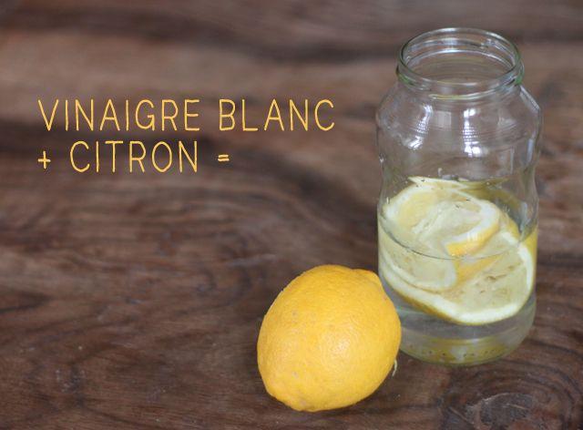 Que faire avec les épluchures de citron ? Ne jetez plus vos écorces de citron à la poubelle, faites en un parfait nettoyant écologique multi-usages !