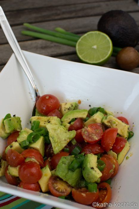 Schneller Avocadosalat - Katha-kocht!