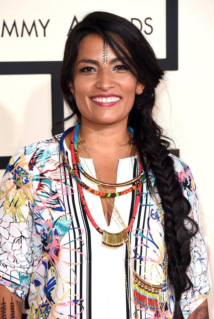 Ana Tijoux at the Grammy Awards, February 2015