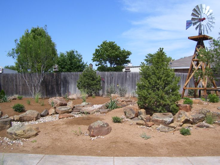 Beautiful xeriscapes in west texas watersmart for Home turf texas landscape design llc