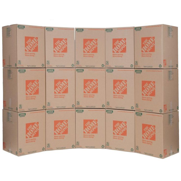 18 in. L x 18 in. W x 24 in. D Large Moving Box (15-Pack)