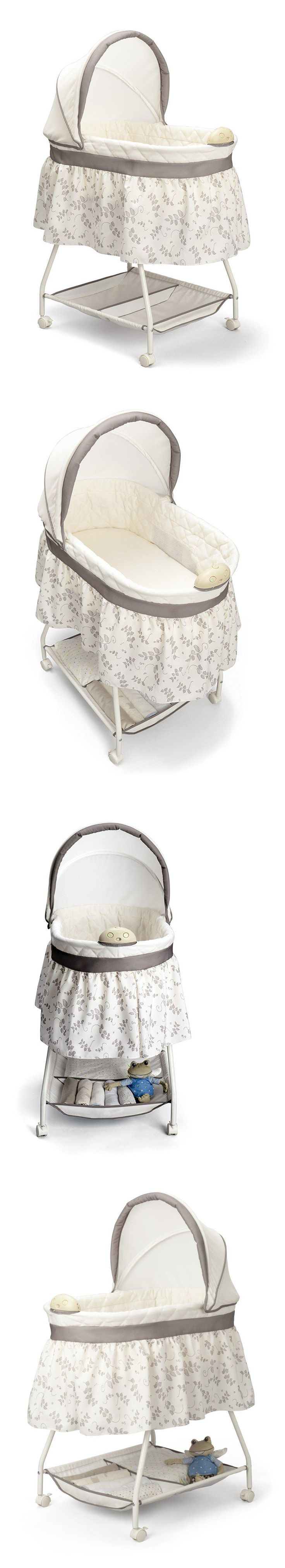 Bassinets and Cradles 20423: Baby Bassinet Portable Rocking Music Nursery Crib Cradle Sleeper -> BUY IT NOW ONLY: $46.89 on eBay!