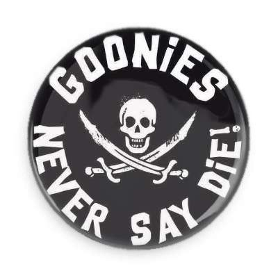 Goonies Pin Back Button