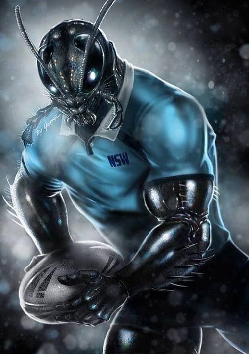 NSW Blues Mascot