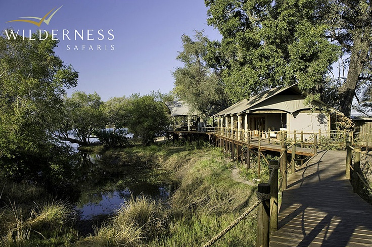 Toka Leya Camp - The camp fits in beautifully with the environment and allows free movement of the wildlife. #Safari #Africa #Zambia #WildernessSafaris