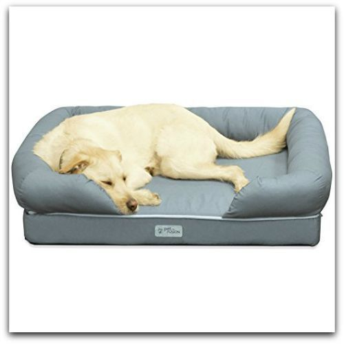 Pet Dog Bed Cozy Sofa Cat Couch Memory Foam Soft Furniture Luxury Lounge Cushion #PetFusion