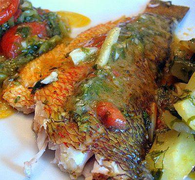 Psari Plaki (Ψάρι-πλακί) - Kalofagas - Greek Food & Beyond - Kalofagas - Greek Food & Beyond