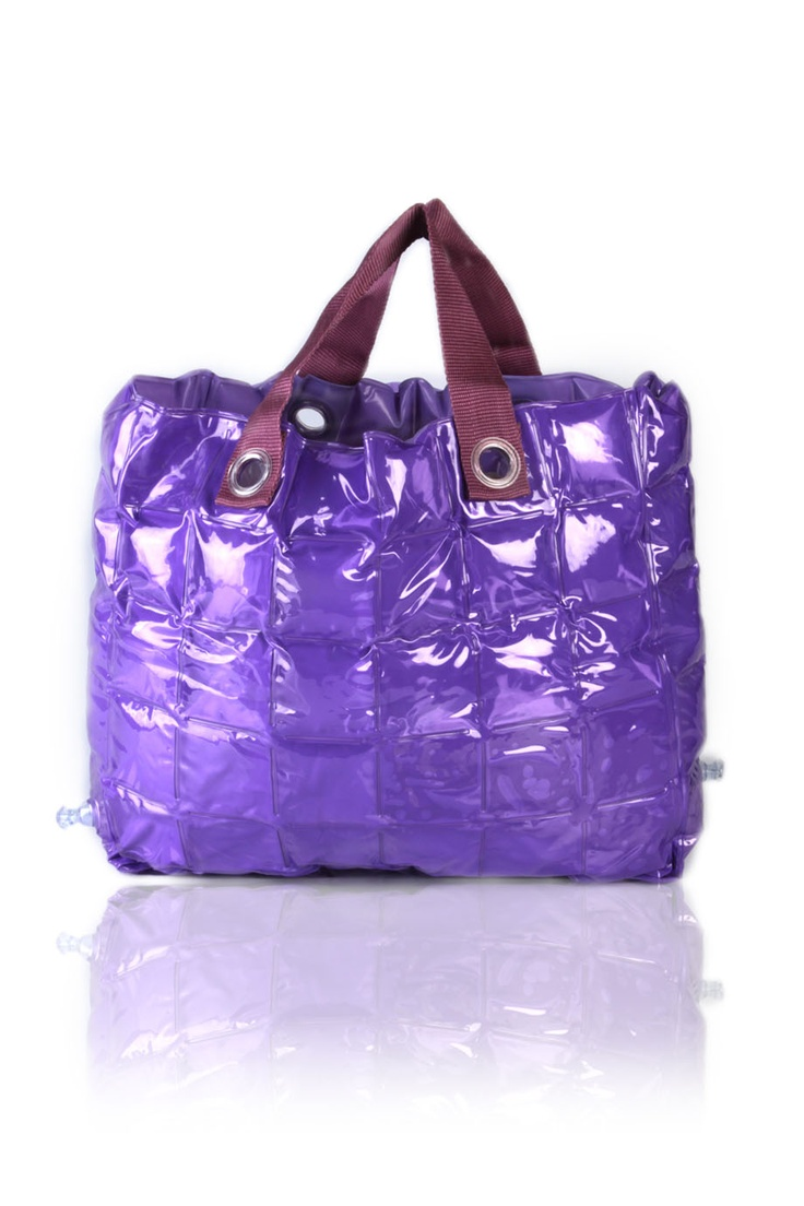 Inflatable purple tote -   Rs. 1,700.00