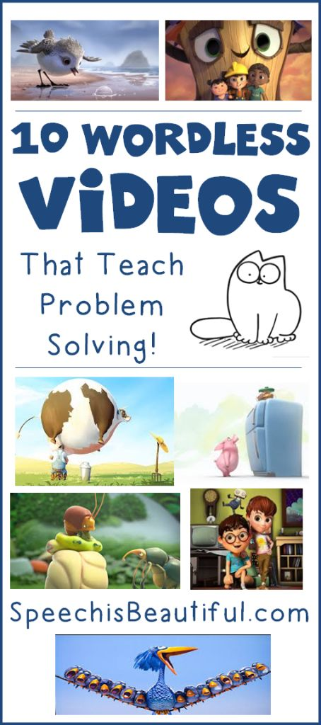 10 Wordless Videos that Teach Problem Solving - Speech is Beautiful