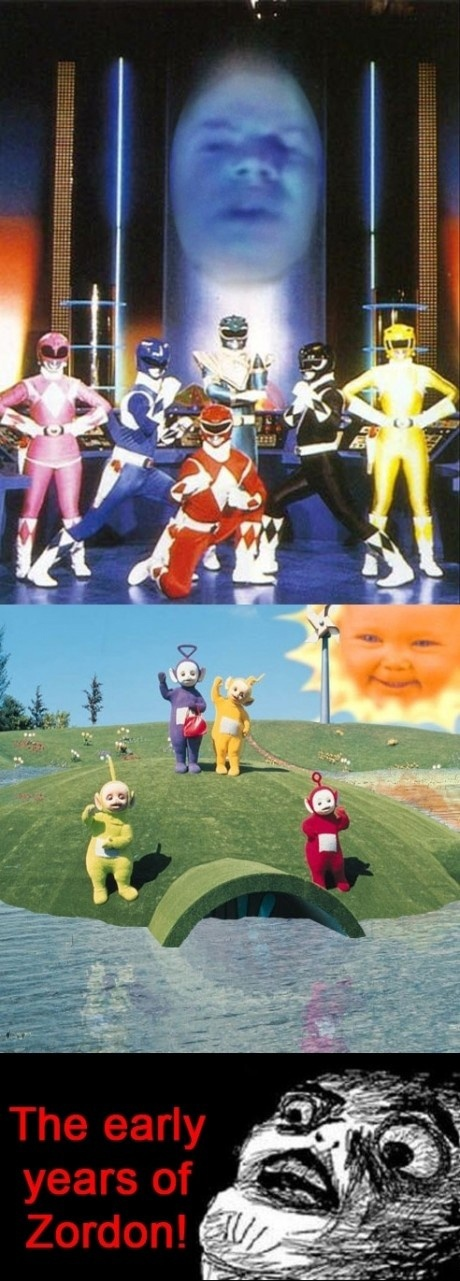 The early years of Zordon