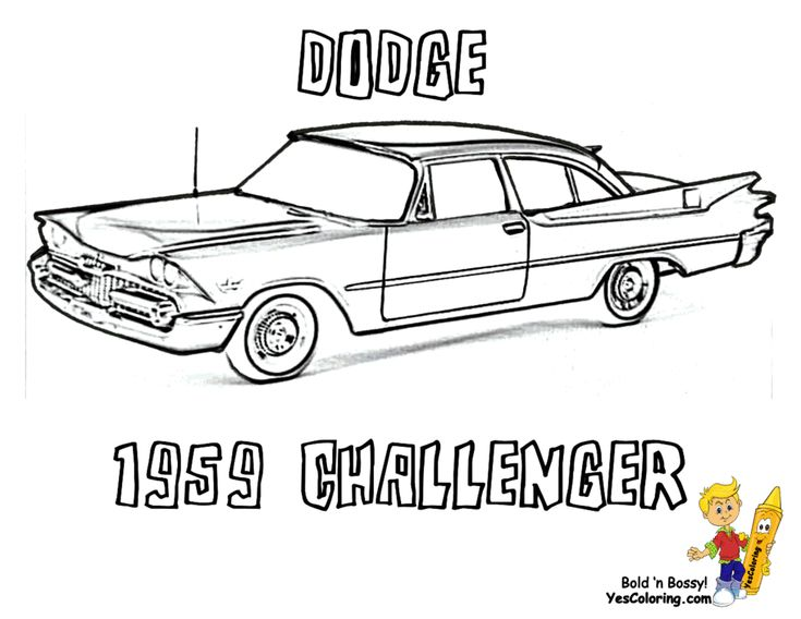20 best images about brawny muscle car coloring pages on