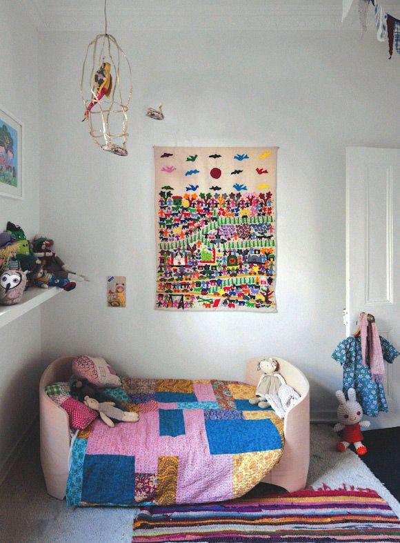 Kids room - Wall hanging - Via Megan Morton