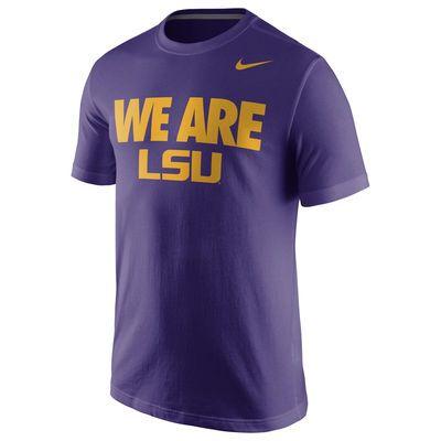 LSU Tigers Nike Team T-Shirt - Purple