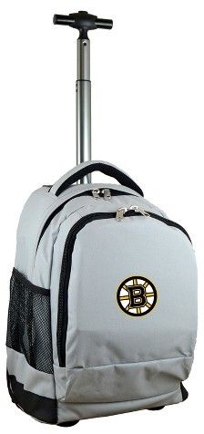 NHL Mojo Premium Wheeled Backpack - Gray