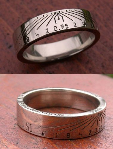 Custom Leica Lens Ring -- for all you camera fans