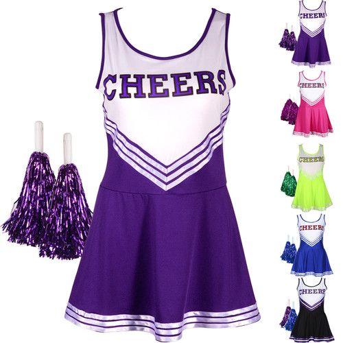 ebay cheerleader costume