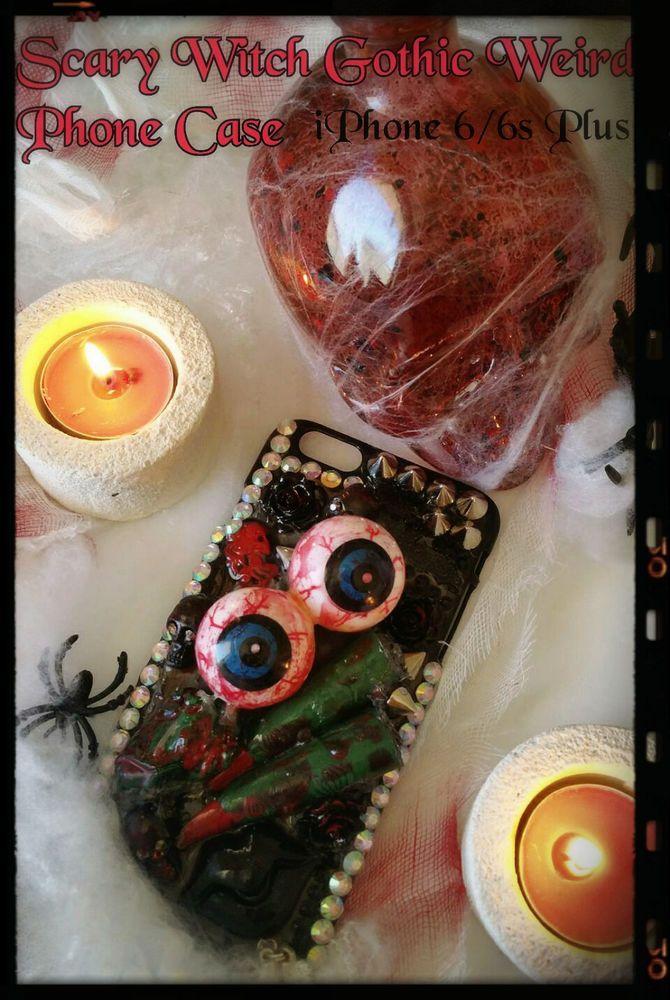 Vampire Witch Horror Case iPhone 6/6s Plus Phone Case,Scary Phone,Halloween Case #iPhone66sPlus