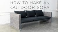 How to Build a Rustic Outdoor Sofa the Easy Way