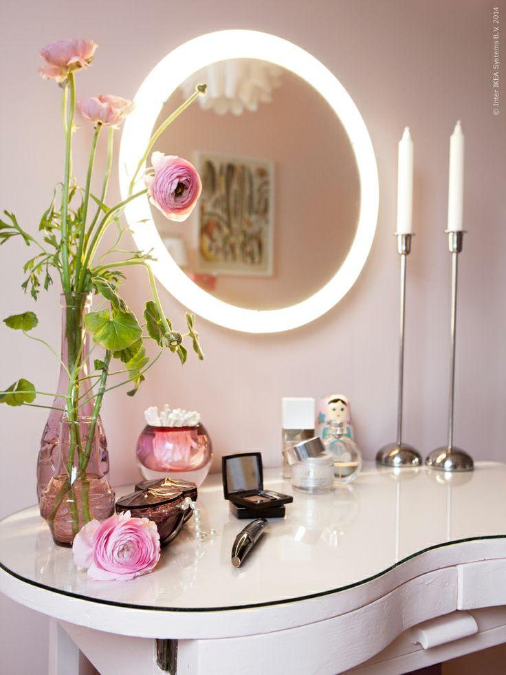 Storjorm light-up mirror from IKEA for vanity?