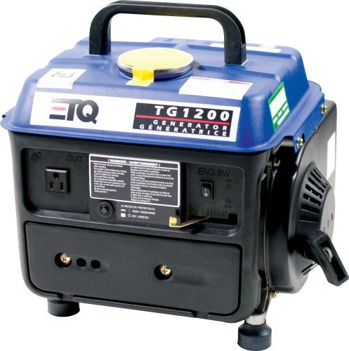 Etq tg1200 1 200 watt 2 hp 2 cycle gas powered portable for Yamaha generator for sale