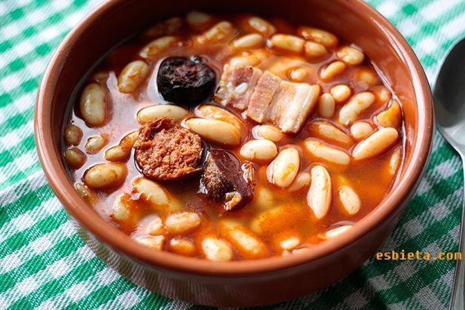 Fabada Asturiana. Receta fácil y buena. Paso a paso con fotos