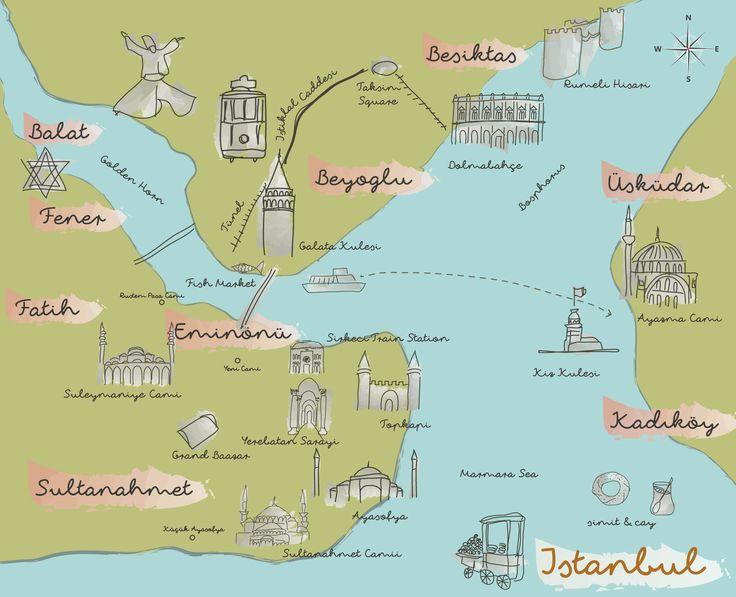 26 best maps travel illustrations images on Pinterest Maps