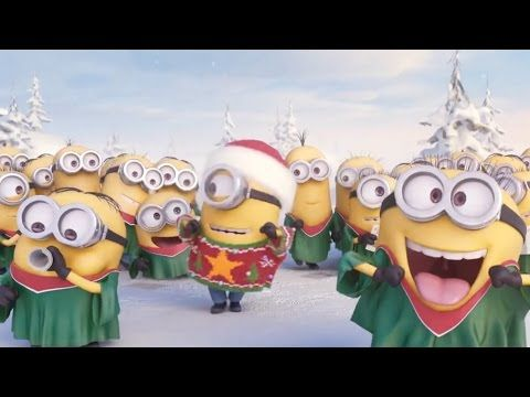Minions Singing Jingle Bell - Merry Christmas 2014 - YouTube