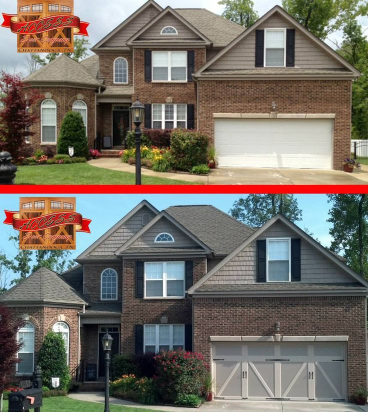 We Love The Way Carriage House Garage Door Design Brings Out Roof Lines And