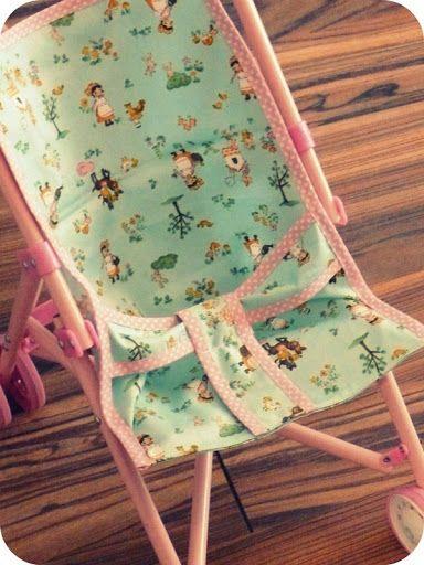 madamejordan: DIY: Puppenbuggy Bezug