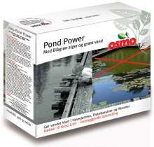 PondPower - mod Blågrøn alger og grønt vand , Gør vandet klart i Havedamme, Fiskebassiner og Akvarier Pond Power er et enestående produkt, der gør vandet klart i havedamme, søer og fiske bassiner i løbet af et par dage. Blågrøn alger og svævealger er vanskelige at modvirke, men med Pond Power har du en dokumenteret løsning til sikring af klart vand. Pond Power er 100% nedbrydeligt. Produktet ophobes ikke i økosystemet og efterlader ingen ...