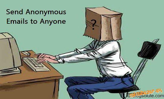 Ako poslať email anonymne