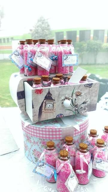 Magical favors at a Fairy Garden Birthday Party!  See more party ideas at CatchMyParty.com! #girlparty