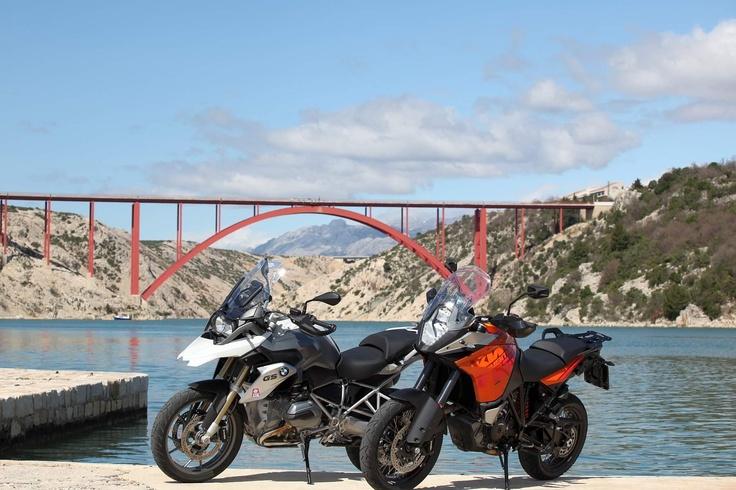 Die Brücke bei Maslenica.
